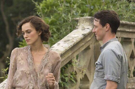 Keira Knightley Dan James Mcavoy Di Film Atonement 5ac9e