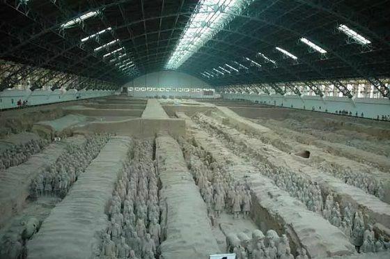 8 Makam Qin Shi Huang Fe377 C7237