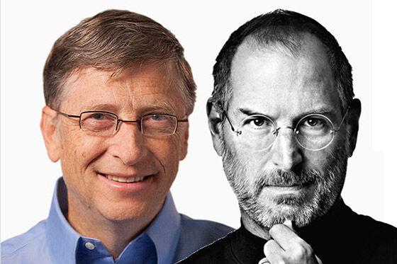 Bill Gates Vs Steve Jobs 1