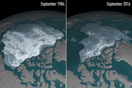 Foto Efek Global Warming Dunia 06