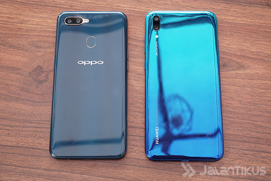 Huawei Y7 Pro 2019 Vs Oppo A7 A6487