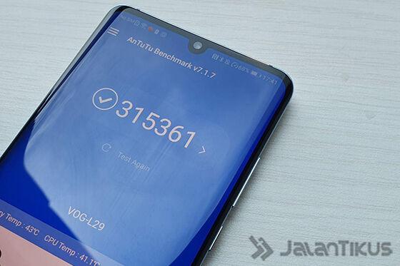 Antutu Huawei P30 Pro 150cf