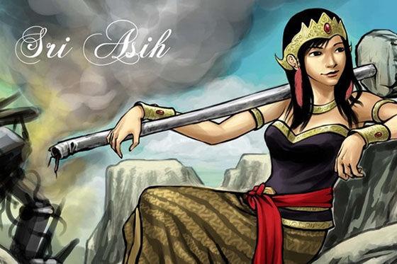 Superhero Indonesia Sri Asih 8691f