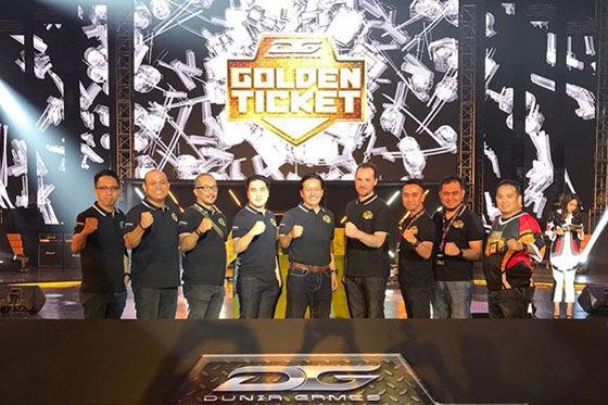Dunia Games Golden Ticket 2019 4591e