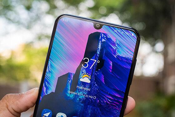 Perbedaan Samsung A50 A50s Layar F7ee0