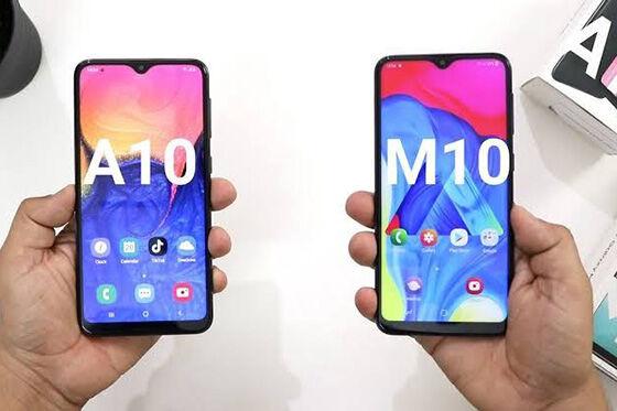 Perbedaan Samsung Galaxy A10 M10 Harga 37fc9