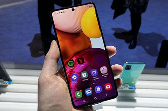Hp Full Screen Samsung Galaxy A71 0bb65