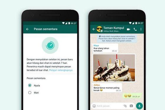 Pesan Sementara Whatsapp 1 Be80b