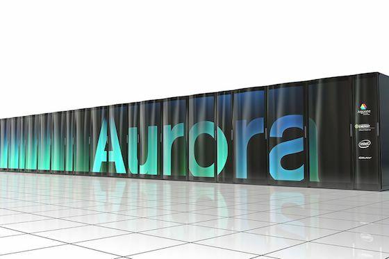 Superkomputer Aurora 06b5a