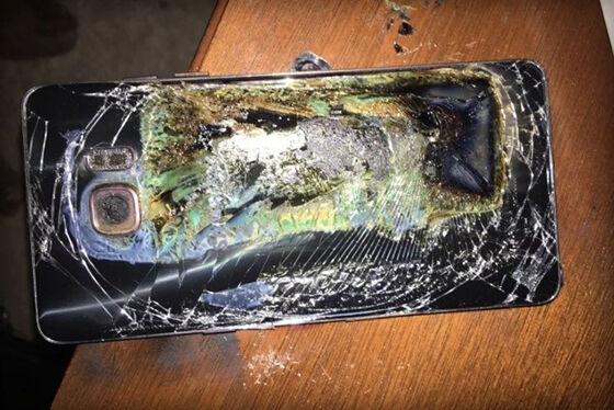 Galaxy Note 7 Meledak Lagi 1