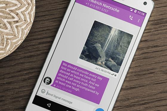 Aplikasi Chatting Android Paling Aman 4
