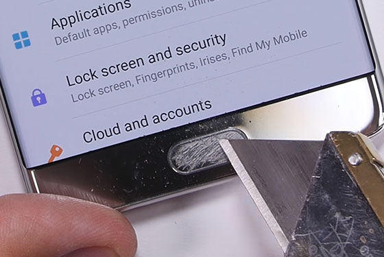 Galaxy Note 7 Uji Fisik 2