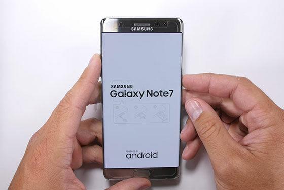 Galaxy Note 7 Uji Fisik 4