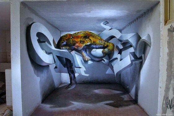 Gambar 3D Keren Di Tembok 10 D3f38