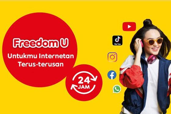 Paket Internet Indosat Freedom U 09122