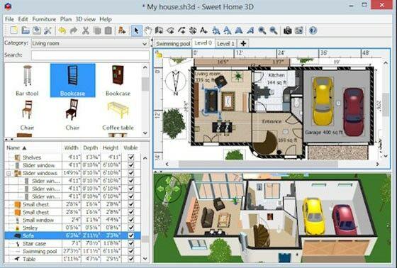 Aplikasi Desain Rumah Pc Sweet Home 3d B724c