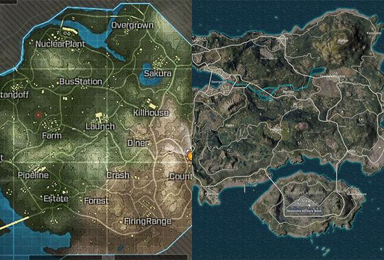 Ini Bedanya Game Battle Royale di PUBG mobile dan COD mobile! Udah Pada Tau?