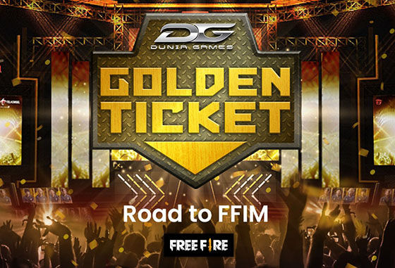 Dunia Games Golden Ticket Free Fire 7cf5e
