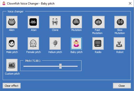 Aplikasi Pengubah Suara Pc Clownfish 65be9