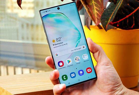Hp Dengan Radiasi Terendah Samsung Galaxy Note 10 717be