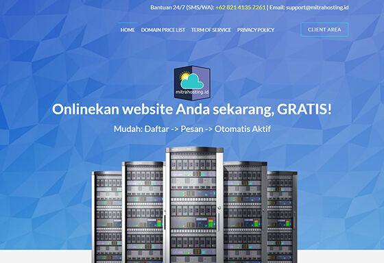 Hosting Gratis Indonesia Mitrahosting C52ee