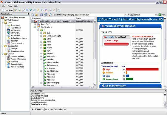 Acunetix Software Hacker Terbaik 1