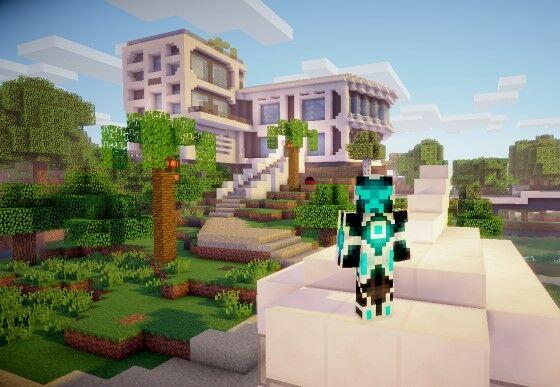 Desain Rumah Minecraft Terbaik 3 0bab3