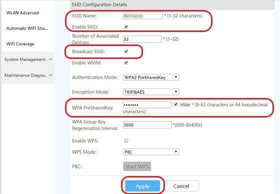 Cara Konfigurasi Access Point Huawei 5ac84