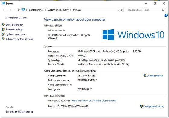 Cek Spek Laptop 94048