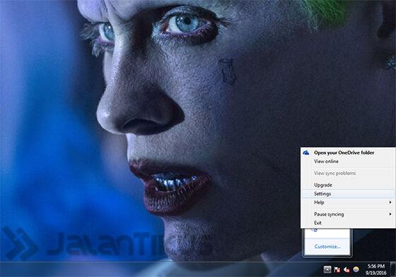 mengatur screenshot di onedrive 1