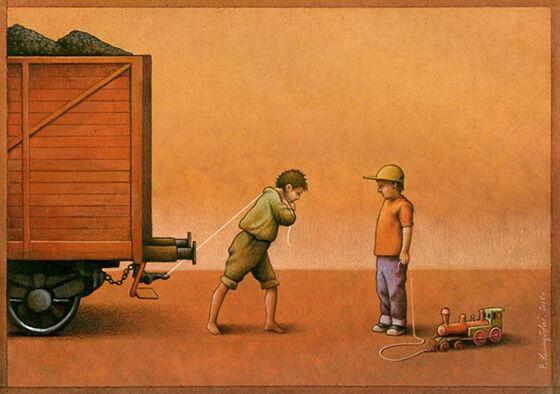 Ilustrasi Kehidupan Modern 5