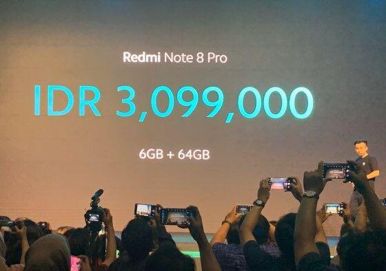 Harga Redmi Note 8 F12d7
