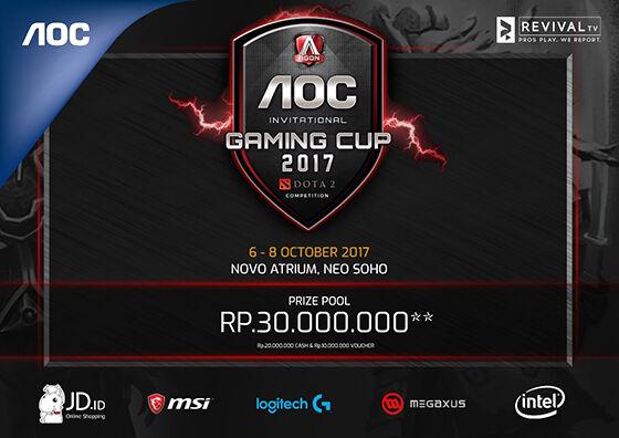 Aoc Invitational Gaming Cup 2017 01