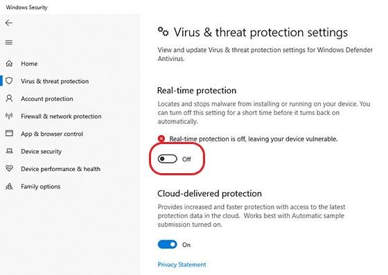 Cara Mematikan Windows Defender Permanen 84486