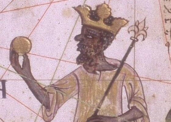 Kaisar Musa Memegang Koin Emas 7fb2c