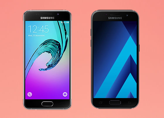 Samsung Galaxy A3 2016 Vs Samsung Galaxy A3 2017