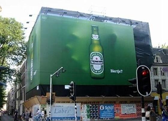 Iklan Menakjubkan Di Tempat Umum 01
