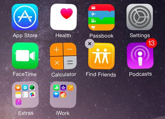 Menyembunyikan Aplikasi Iphone 6