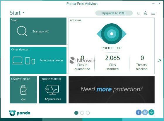 Panda Antivirus 1 E799d