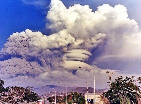 Letusan Gunung Krakatau 989bc
