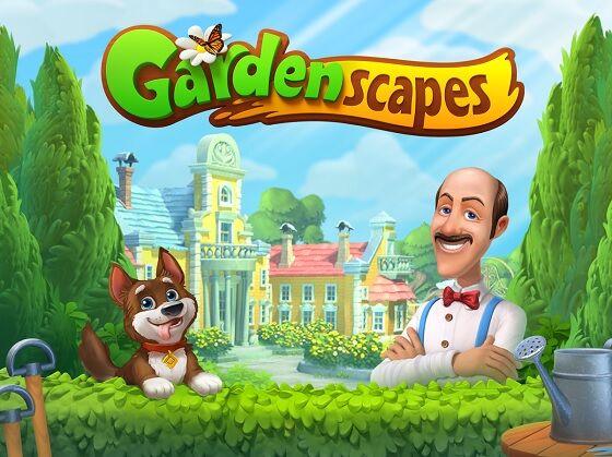 Gardenscapes MOD 1 A2a9a