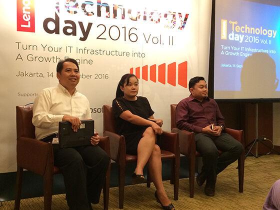 Lenovo Tech Day 1