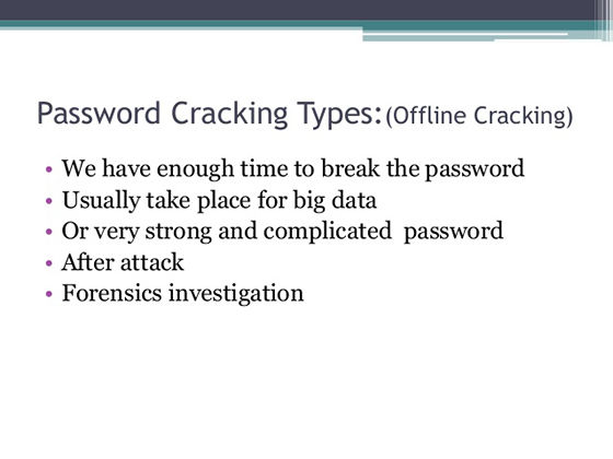 Teknik Cracking Password 8