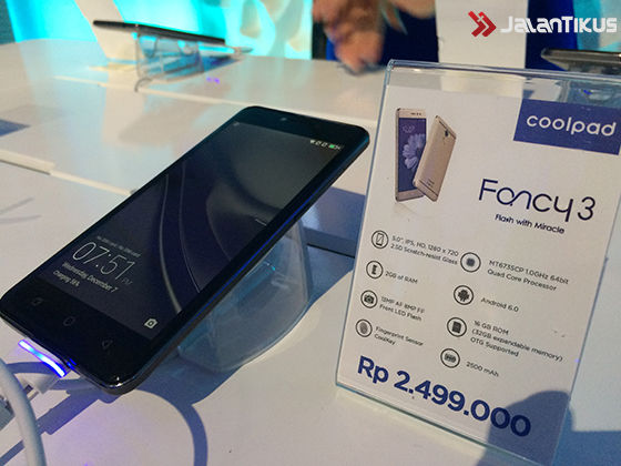 Harga Coolpad Fancy 3 3