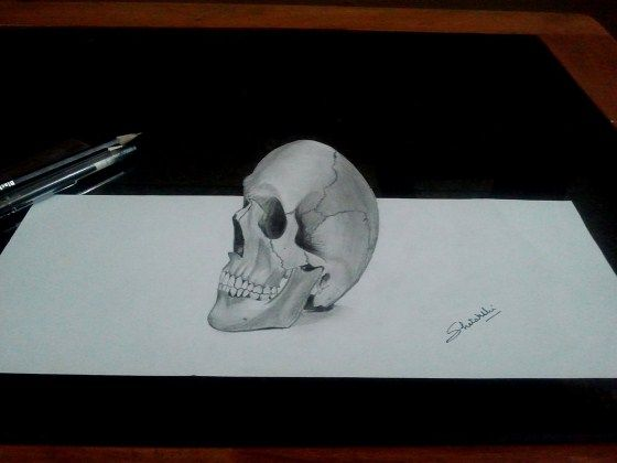 Gambar 3D Keren Pensil 1 B3075