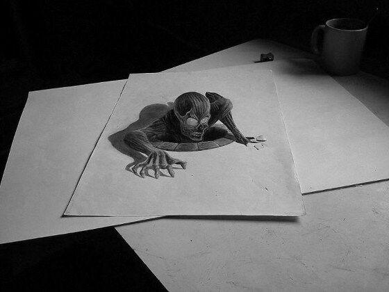 Gambar 3D Keren Pensil 5 5445f