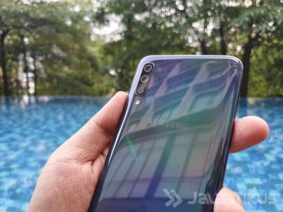 Kamera Samsung Galaxy A70 08835