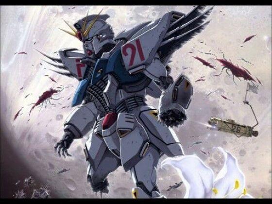 Urutan Gundam Gundam F91 91aff