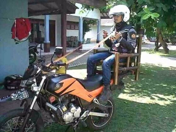 Bawa Motor Naik Kuda 6372f