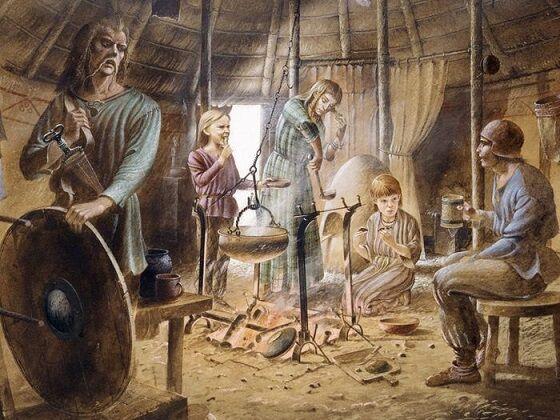 Ilustrasi Masyarakat Di Zaman Besi Di Eropa 269c8